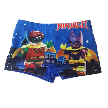 Стильные детские плавки Ninjago - №4204, фото 2