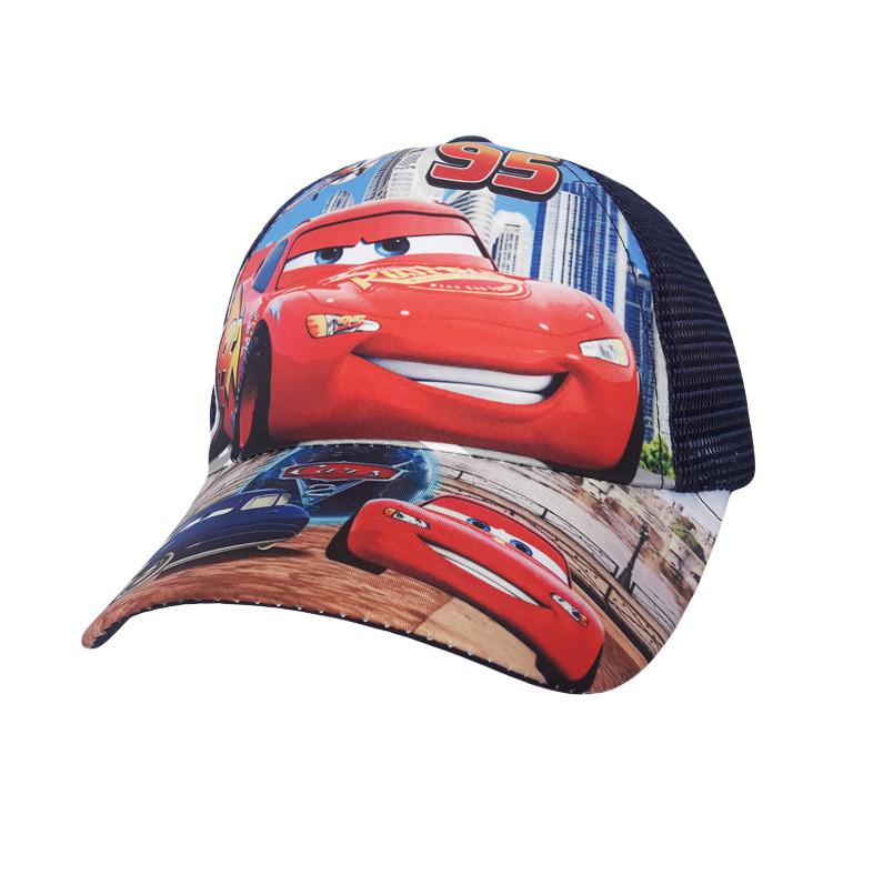 Стильная детская бейсболка Cars - №4210