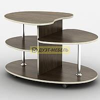 Журнальный стол на колесиках ЮПИТЕР (90 см)
