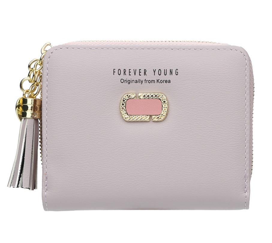 Жіночий гаманець BAELLERRY Fashion Lady Wallet клатч Світло-Фіолетовий (SUN4866)