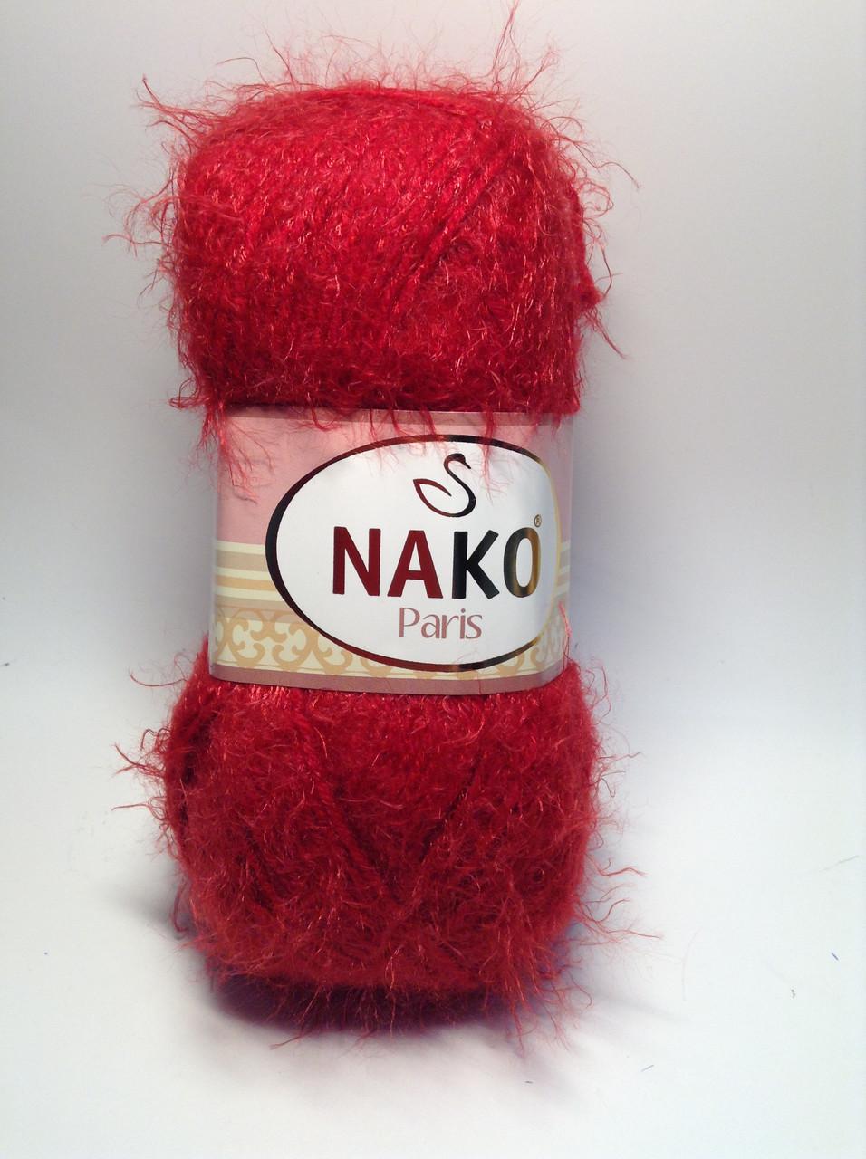 Пряжа nako paris - цвет оранжевый