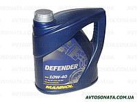 Масло моторное п/синтетика MANNOL Defender 10W-40 4L SL