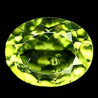 2.76 кт. Природний перідот , хризоліт , олівін 10х8 мм.