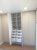 Шкаф в современном стиле под потолок , фото 1