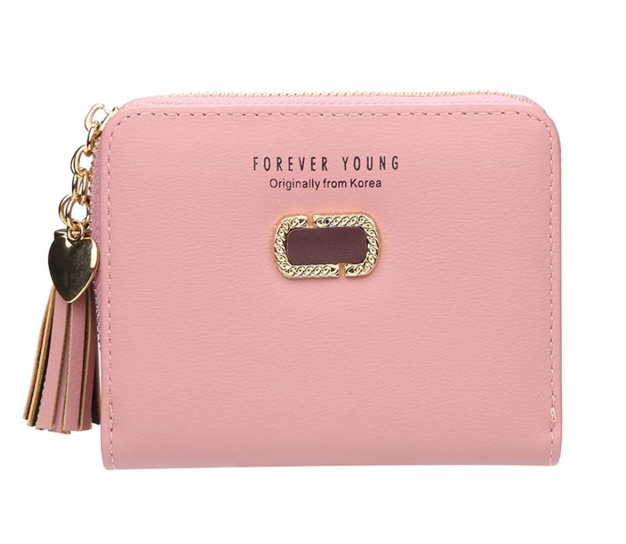 Жіночий гаманець BAELLERRY Fashion Lady Wallet клатч Рожевий (SUN4868)