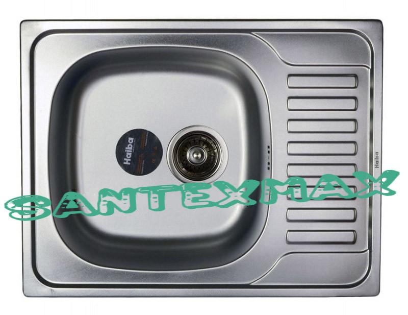 Мойка для кухни матовая Haiba 650x500 satin