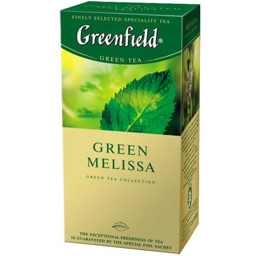 Зеленый Чай Greenfield Green Melissa (25 шт) Мелисса