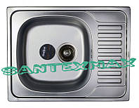 Мойка для кухни фактурная Haiba 650x500 decor