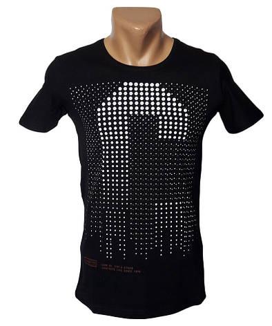 Черная футболка - №5042, фото 2