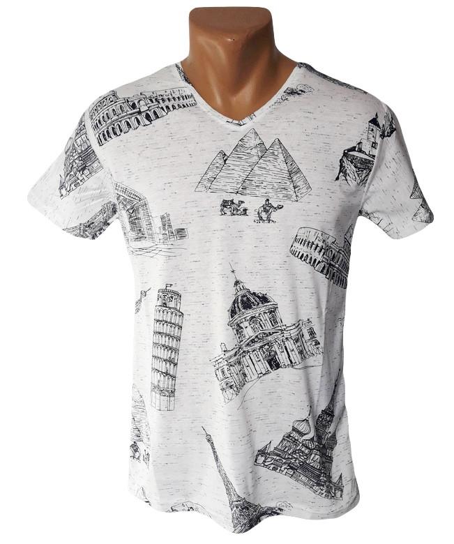 Мужская футболка Leonidas - №5194