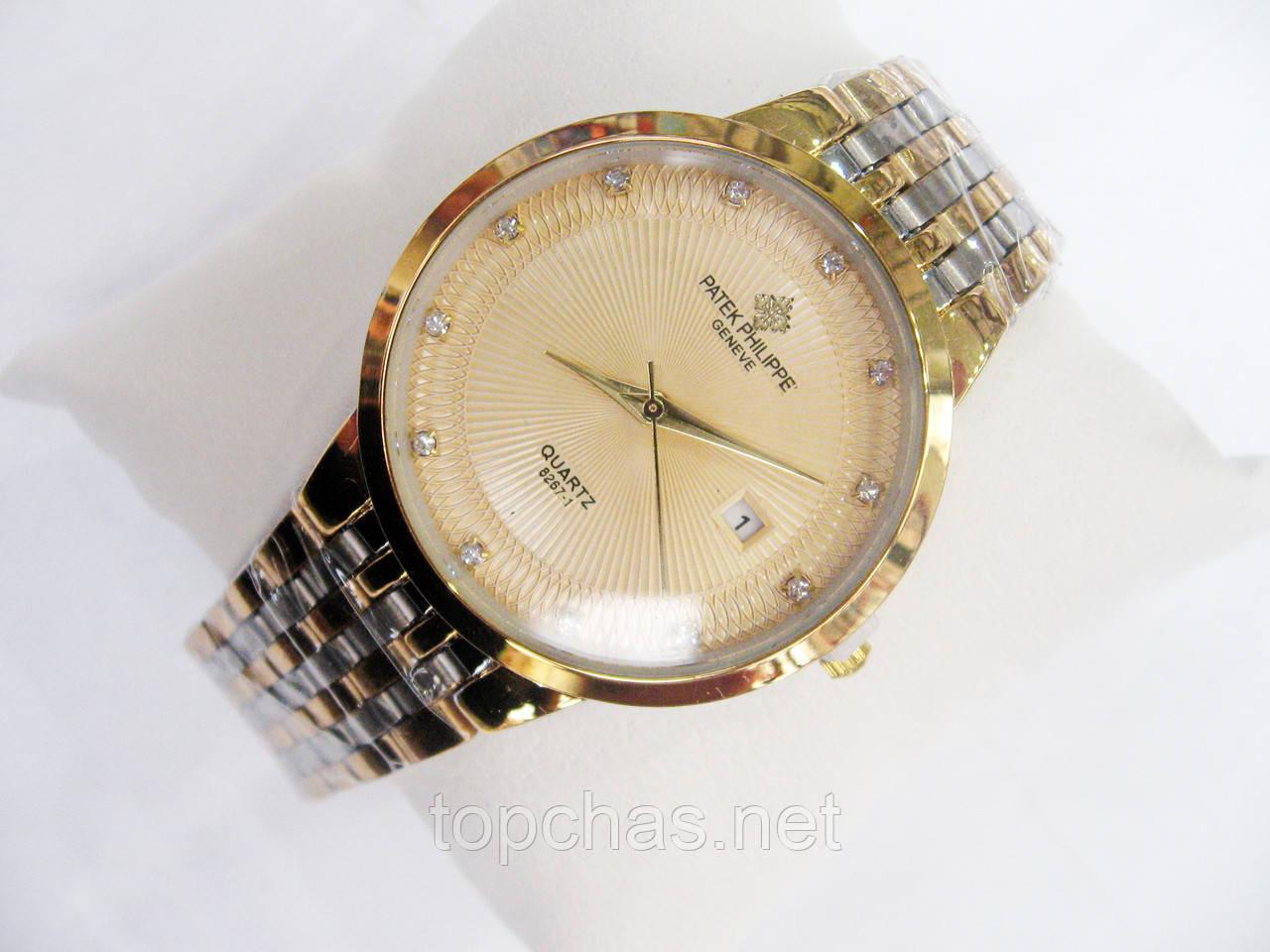 Мужские (Женские) кварцевые наручные часы Patek Philippe на металлическом  ремешке fc69f39f172