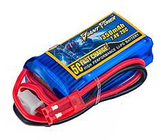 Аккумулятор Giant Power Li-Pol 350mAh 7.4V 2S 20C 15x21x40мм JST