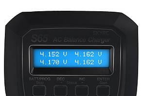 Зарядное устройство SkyRC S65 2-4S 6A/65W с/БП универсальное (SK-100152), фото 3