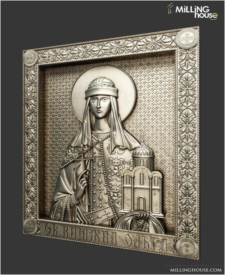 Ікона  Святая Княжна Ольга