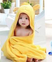 Детское полотенце Уголок «Мишка» для купания 90*90см. 155 грн