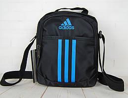 Спортивная сумка-барсетка через плечо Adidas .Тканевая сумка. КС128