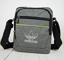 Спортивная сумка-барсетка через плечо Adidas .Тканевая сумка. КС129