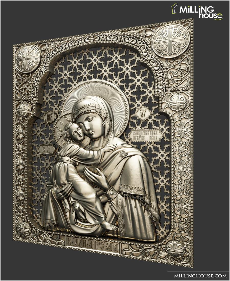 Ікона  Богородица