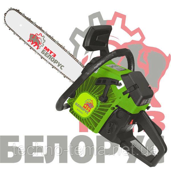 Бензопила цепная 2 шины 2 цепи Белорус МТЗ БП 52-5.5