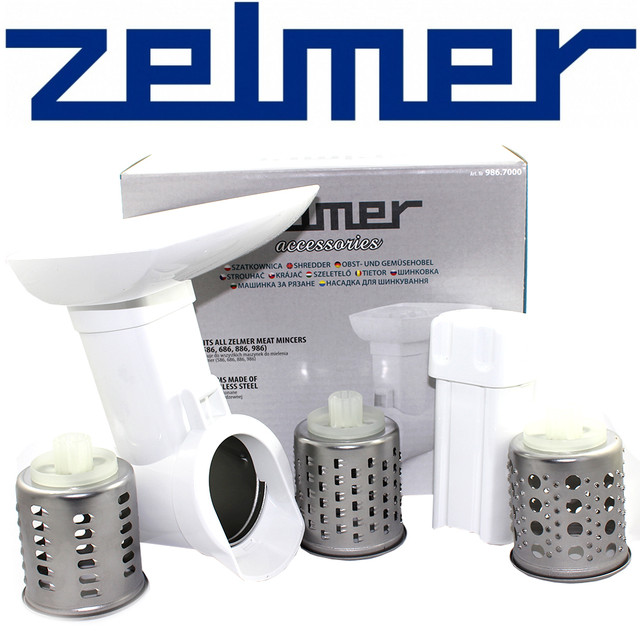 Насадка овощерезка для мясорубки Zelmer