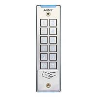 Кодовая клавиатура со считывателем ARNY AKP-132RF