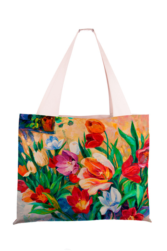 Сумка женская Летние тюльпаны