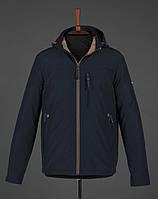Мужская демисезонная куртка  BLACK VINYL TC18-1278