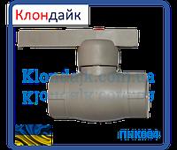 STR кран шаровый 25 (латунный шар)