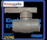 STR кран шаровый 32 (латунный шар)