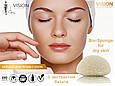 Спонж для сухой кожи VISION Skincare на основе экстракта батата, фото 3