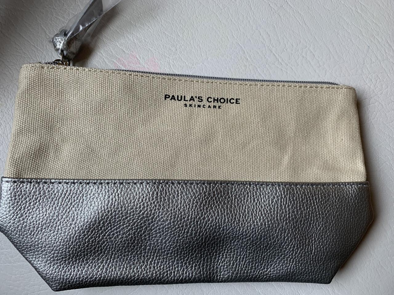 Красивая фирменная косметичка Paula's Choice