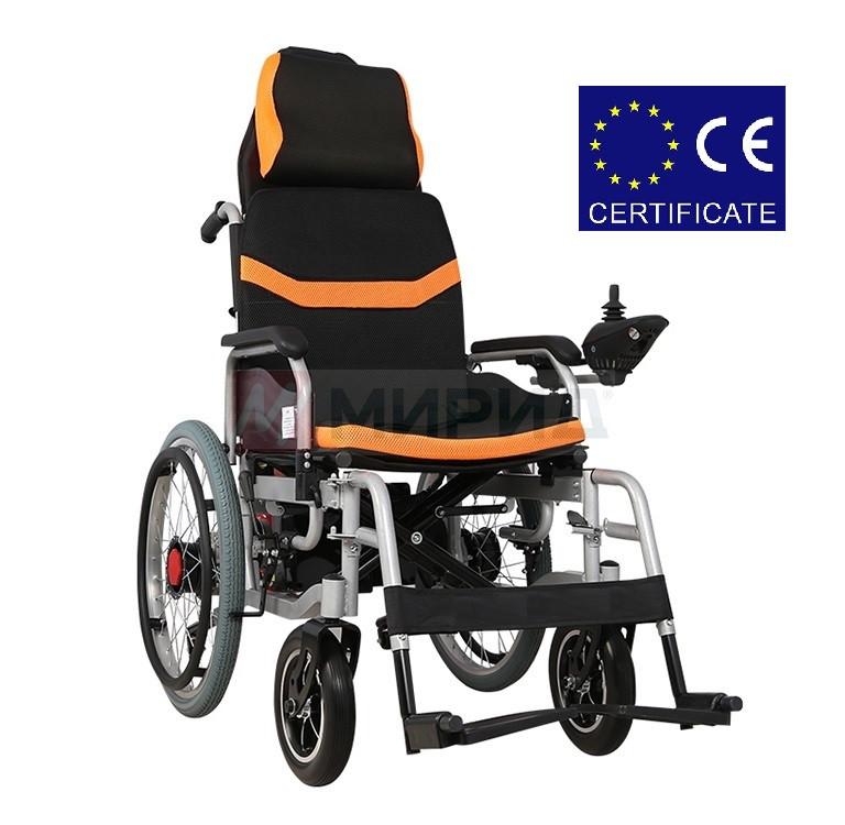 Складная инвалидная электроколяска DYL – 6035A. Инвалидная коляска. Кресло коляска.
