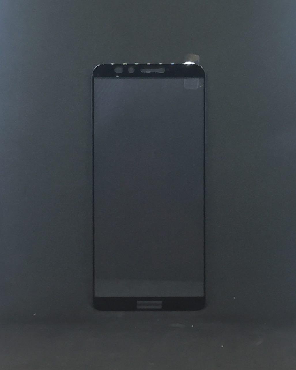 Защитное стекло 5D HUAWEI P Smart Plus / NOVA 3 - черный