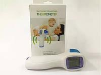 Детский электронный бесконтактный инфракрасный термометр градусник для тела