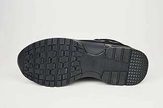Ботинки текстильные черные женские Allshoes 998, фото 3