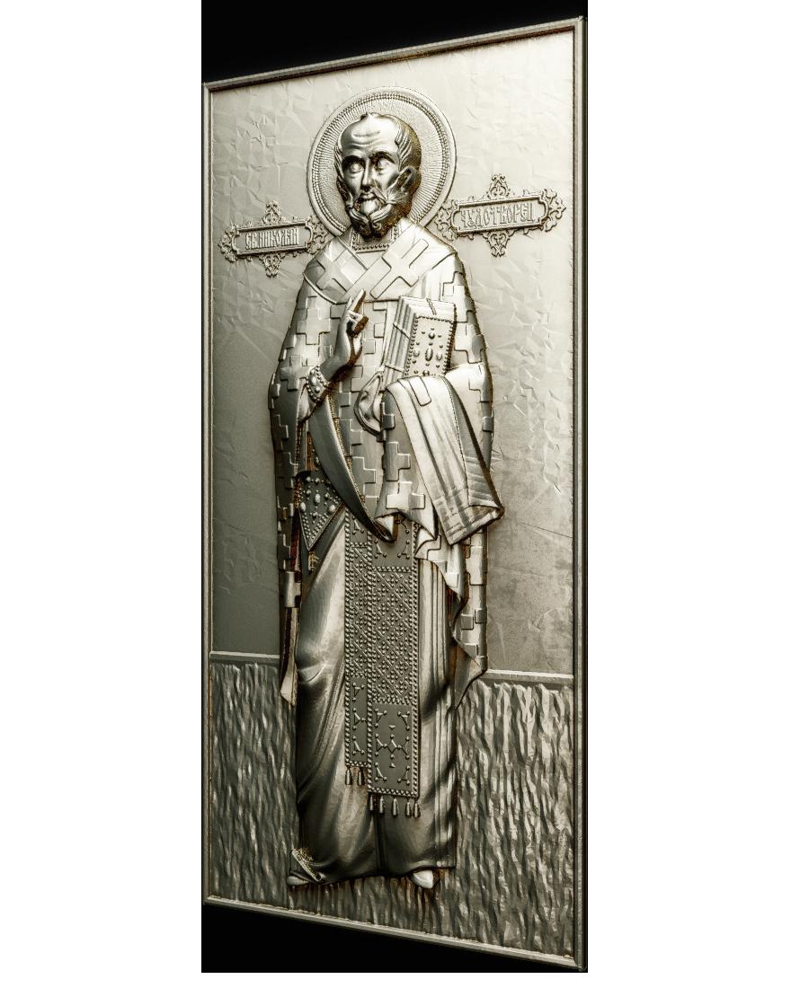 Ікона  Николай Чудотворец (в рост)