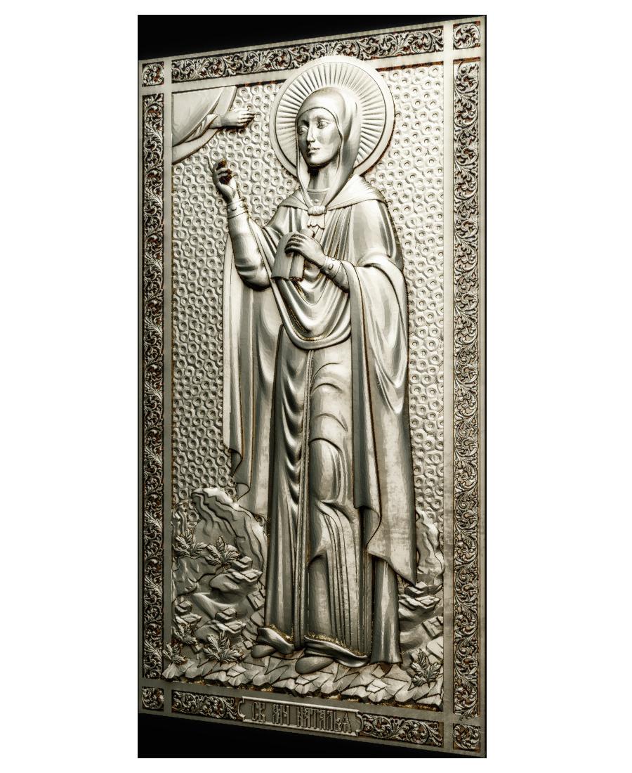 Ікона  Святая Наталья (в рост)