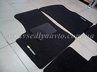Ворсовые коврики передние CHEVROLET Tacuma