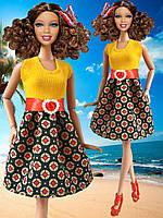 Одежда для кукол Барби - платье