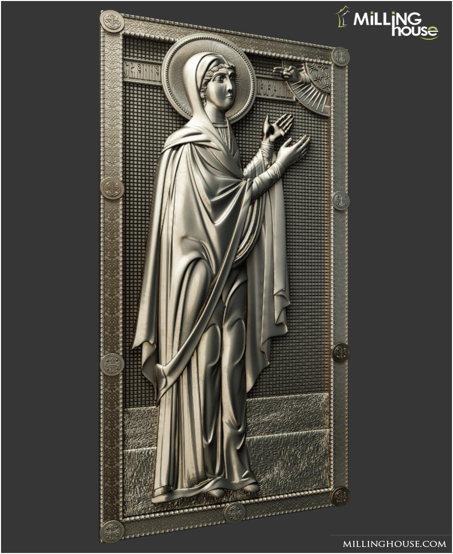 Ікона  Святая Анна