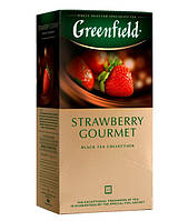 Черный Чай Greenfield Strawberry Gourmet (25 шт) Клубника