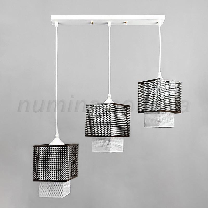 Люстра подвесная на три лампы 5-31623/3 CO+WT