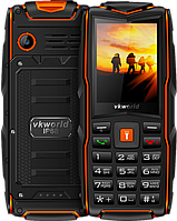 """VKworld Stone V3 New, 3 SIM, IP68, 3000 mAh, БОЛЬШОЙ ШРИФТ, русский и украинский язык, 2 Mpx, FM, дисплей 2.4"""", фото 1"""