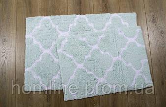 Набор ковриков Irya Bali aqua 50*80+45*60