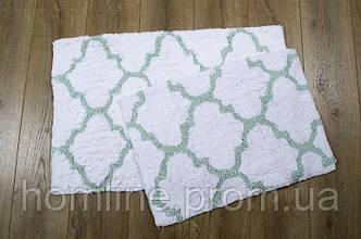 Набор ковриков Irya Bali mint ментол 50*80+45*60