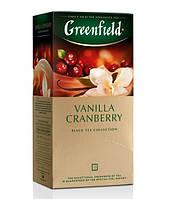 Черный Чай Vanilla Cranberry (25 шт) Ваниль Клюква