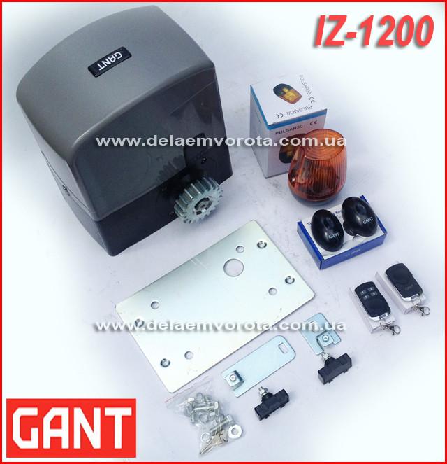 GANT IZ-1200 автоматика для откатных ворот