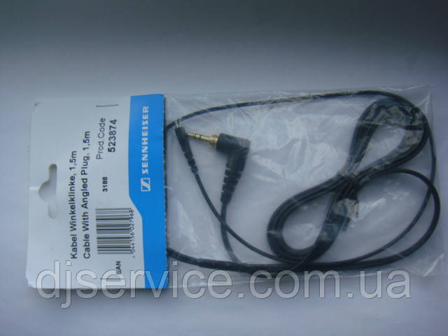 Кабель (шнур) для Sennheiser HD25, HD25-1, HD25-II, HD25-CII  HD25 II Steel Cable straight cable