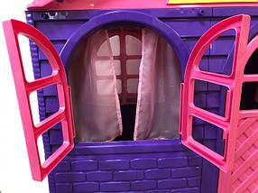 Огромный детский домик (Фиолетово-розовый) 02550/20, фото 3