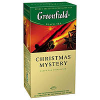 Черный Чай Greenfield Christmas Mystery (25 шт) Кристмас Мистери